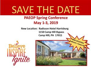 Spring Conf Save Date